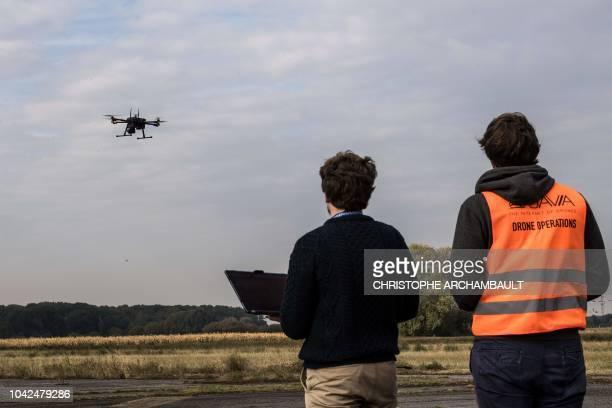 test drone interieur