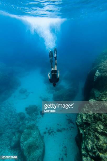 Homme libre, plongée à Fernando de Noronha