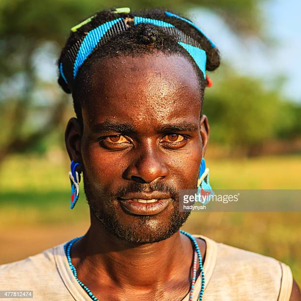 Man from Samai tribe, Ethiopia, Africa