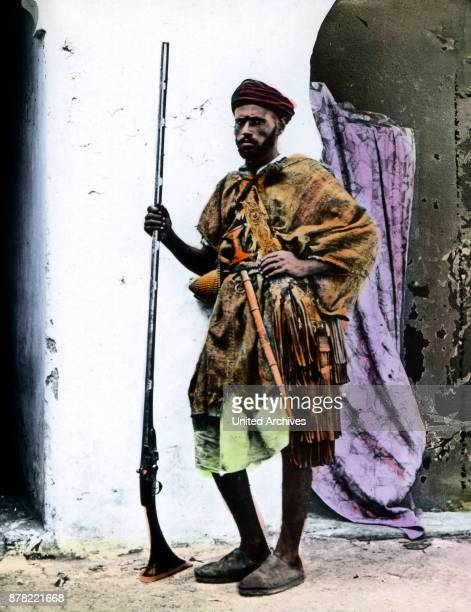A man from the Berber ethnos at Algeria 1920s