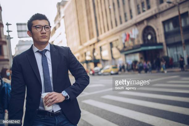 Man going on a business travel