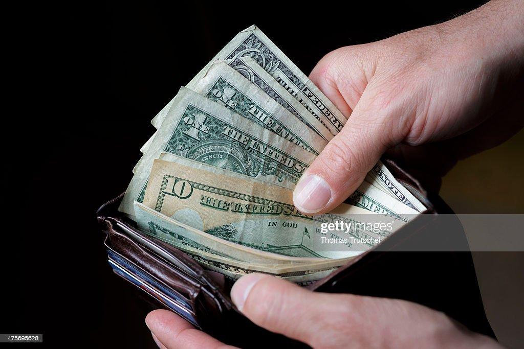 US Dollars : News Photo