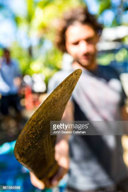 man holding a machete - machete stock pictures, royalty-free photos & images