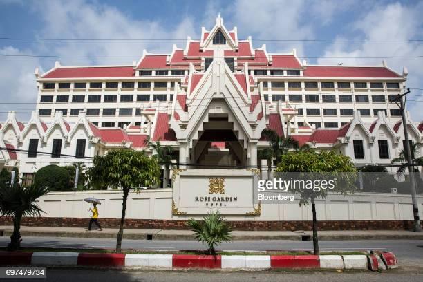 History Of Rose Garden Hotel Yangon Building