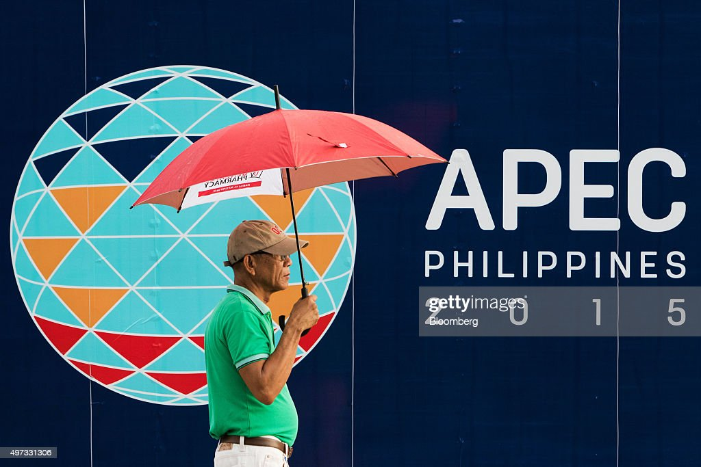 General Views Of Manila Economy Ahead Of APEC Summit : News Photo