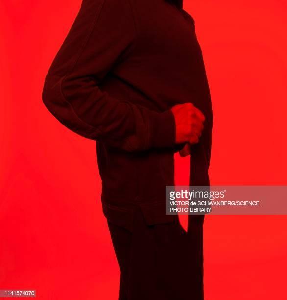 man holding knife - 殺す ストックフォトと画像