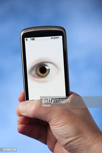Dein Telefon ist beobachten Sie