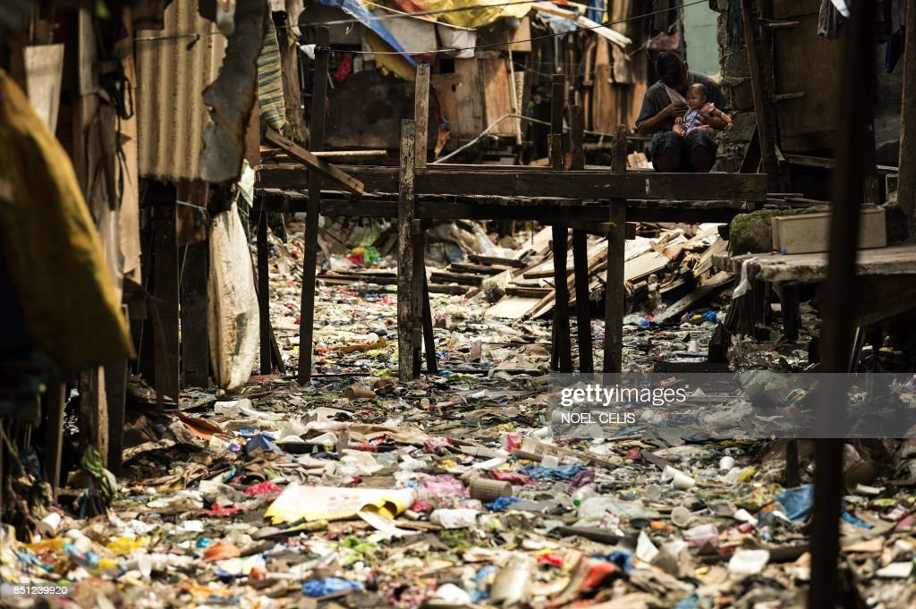 PHILIPPINES-ENVIRONMENT-POLLUTION : News Photo