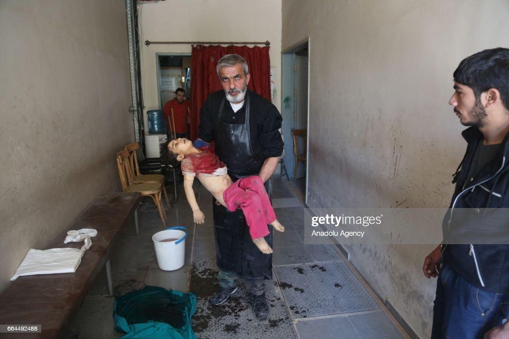 Assad regime hits civilians in Damascus : News Photo