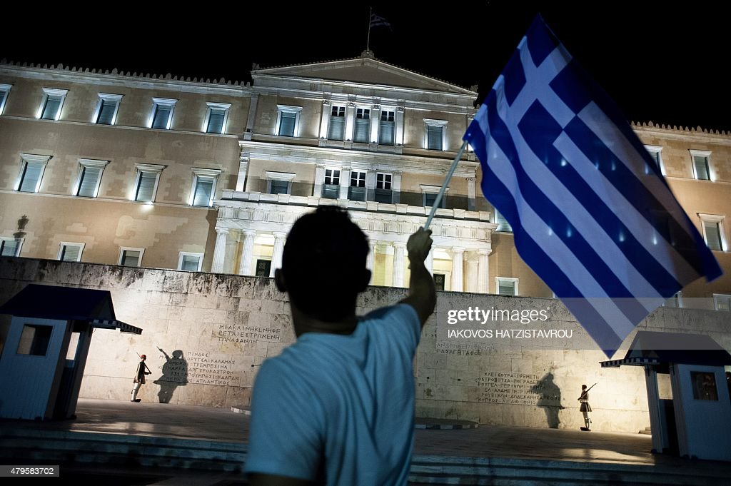 GREECE-EU-REFERENDUM-DEBT : News Photo