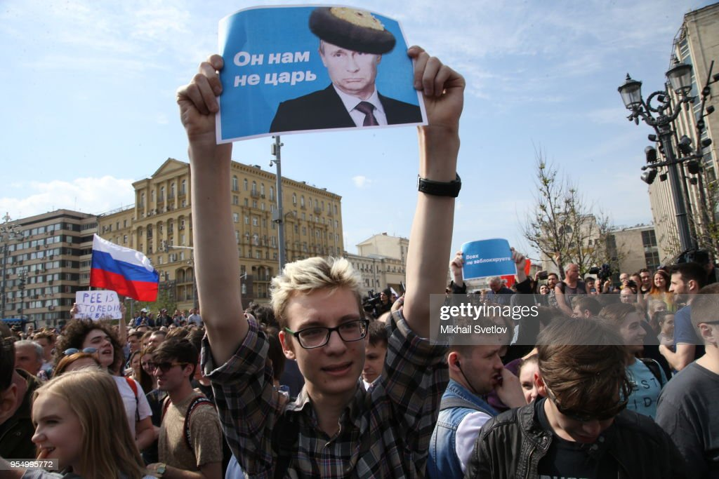 Rally Against Russian President Vladimir Putin in Moscow : News Photo