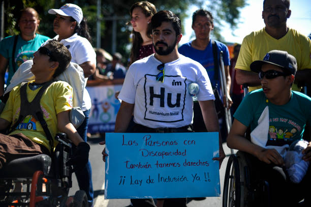 SLV: United Nations' International Day of Disabled Persons In El Salvador