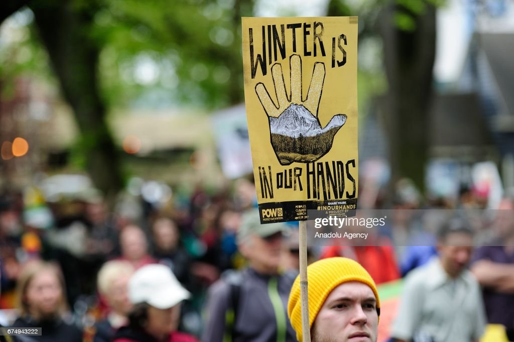 People's Climate March in Portland : News Photo