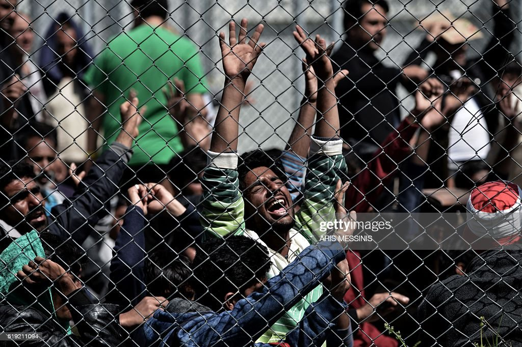 GREECE-EUROPE-MIGRANTS : News Photo