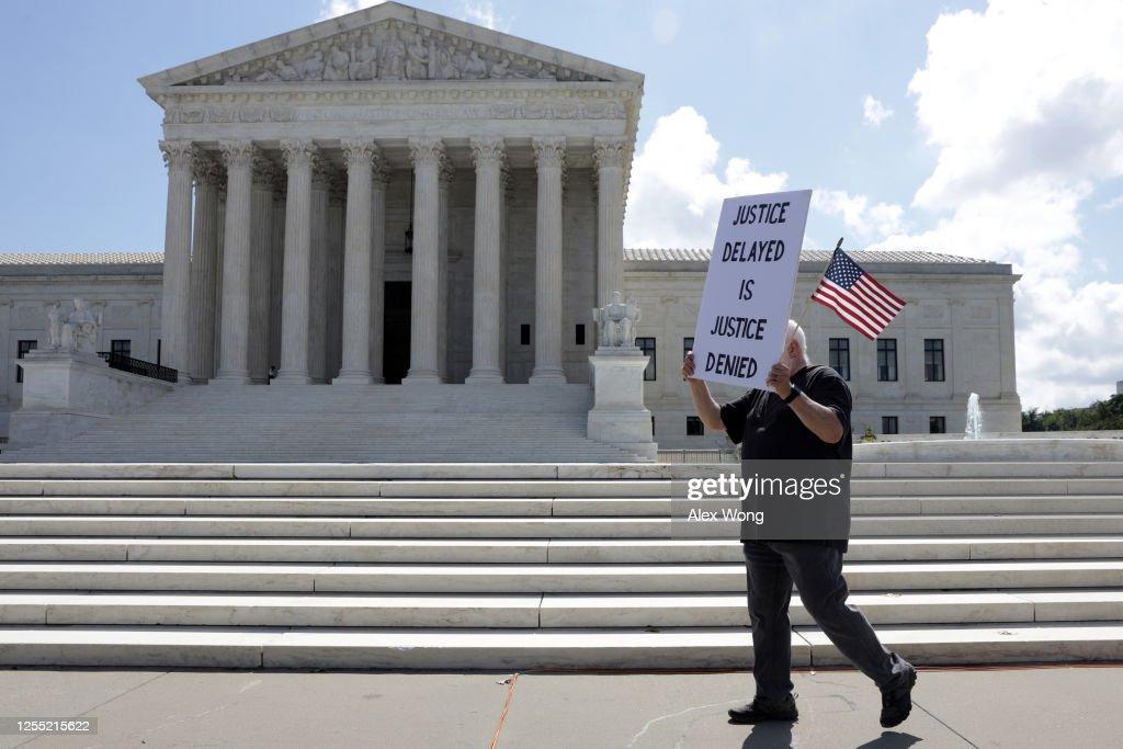 Supreme Court Issues Rulings : News Photo