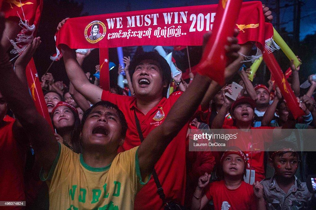 Myanmar's Landmark Election : News Photo