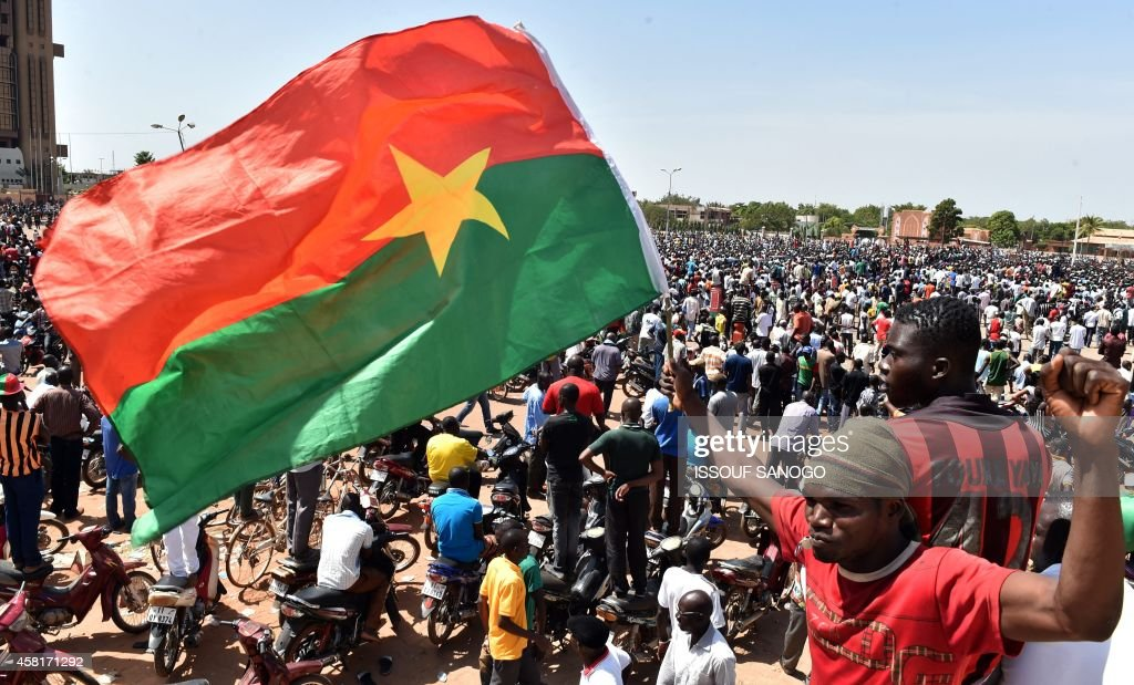 BURKINA-POLITICS-PROTESTS : News Photo