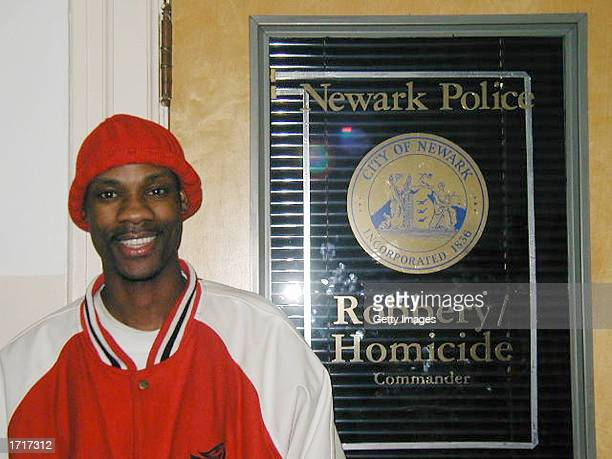 A man identified as Jean Claude Dessources is seen in this handout photo from the Newark Police Department on January 9 2003 in Newark New Jersey...
