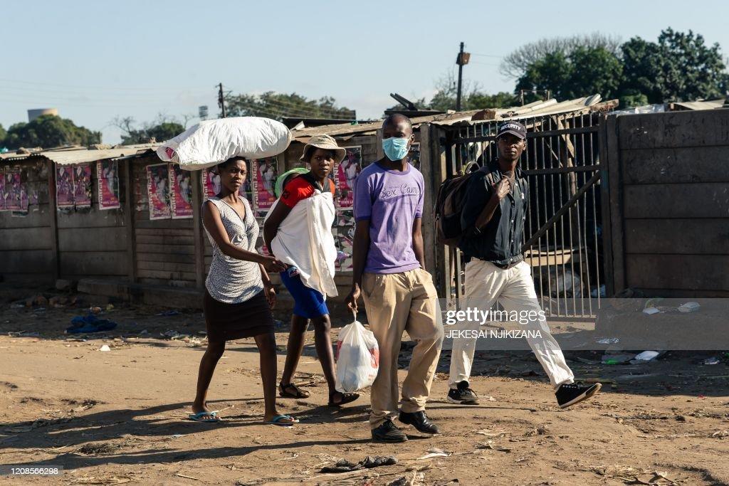 ZIMBABWE-HEALTH-VIRUS : News Photo