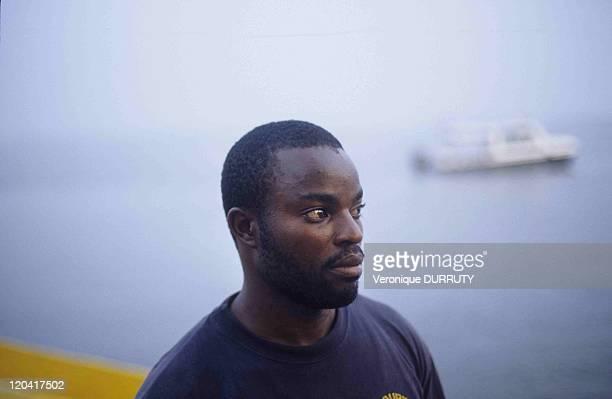 Man In Brazzaville Congo