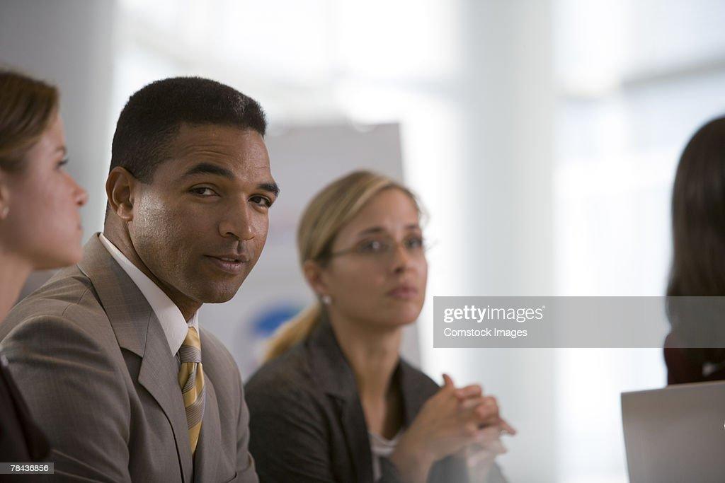Man in business attire : Stockfoto