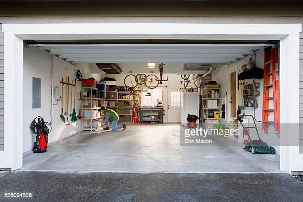 Man in Garage