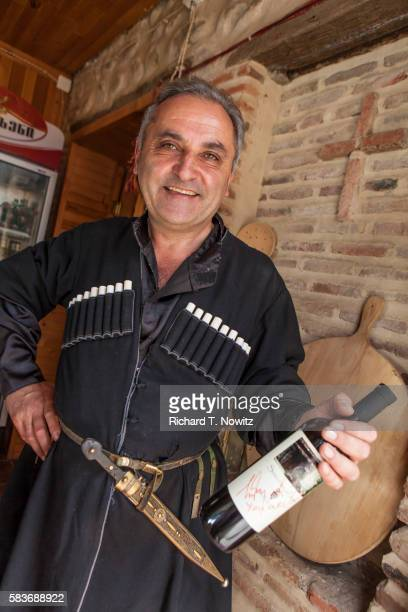 Man in Georgian traditional clothes.