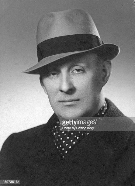 man in hat 1940's portrait - 1943 stock pictures, royalty-free photos & images