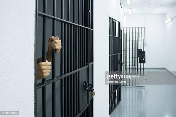 Man in jail awaiting trial.