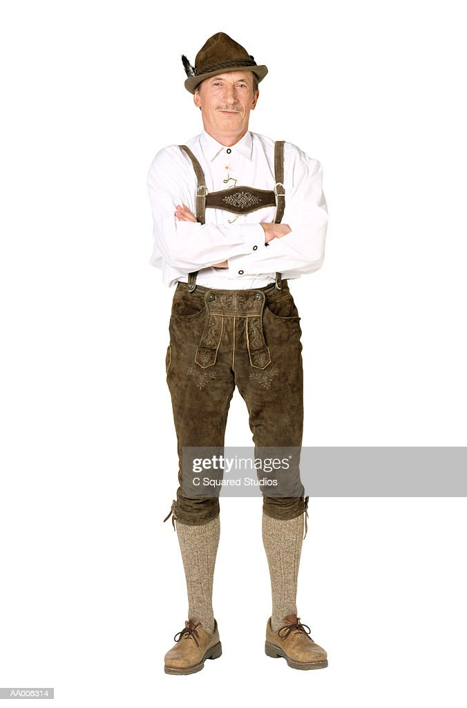 Man in Lederhosen : Photo