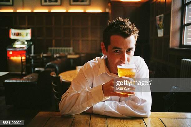Man in London Pub