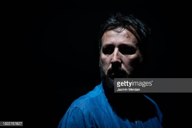 man in night - police mugshot stock pictures, royalty-free photos & images