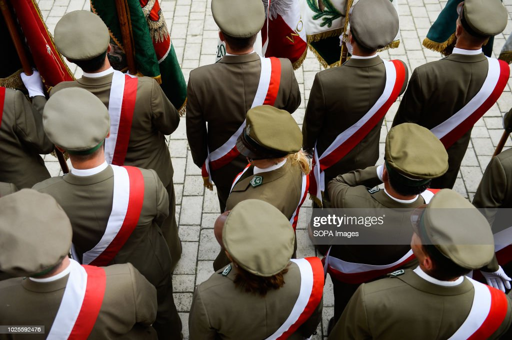 Man In Polish Uniforms Seen During The Event The 38th Pictures