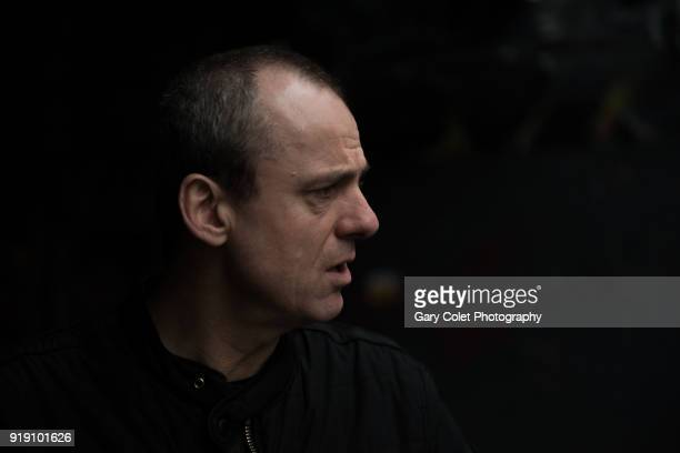 man in profile - gary colet stock pictures, royalty-free photos & images