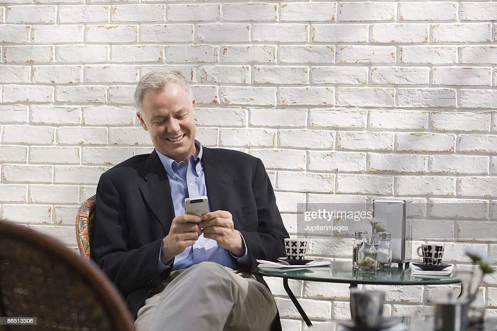 Man in restaurant : Stock Photo