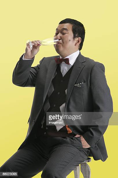 a man in suit - metabolic syndrome stock pictures, royalty-free photos & images