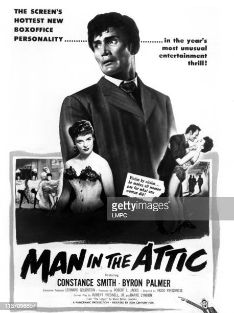 Man In The Attic poster Constance Smith Jack Palance 1953