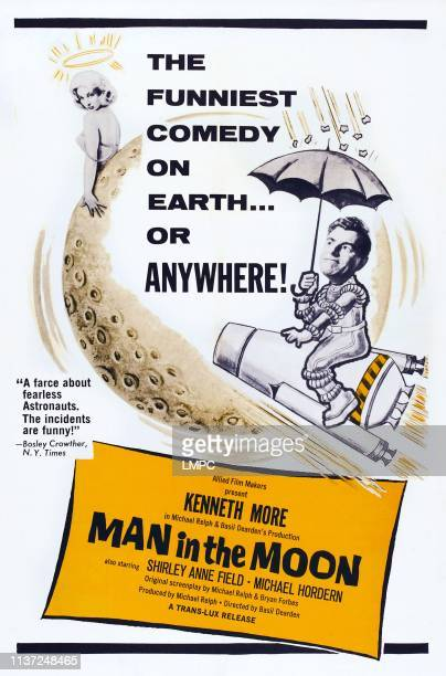 Man In The Moon poster poster art Shirley Anne Field Kenneth More 1960
