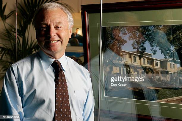 – – Man in the News Profile of Larry Webb CEO of Newport Beach–based John Laing Homes His company was acquired by a Dubai–based development company...