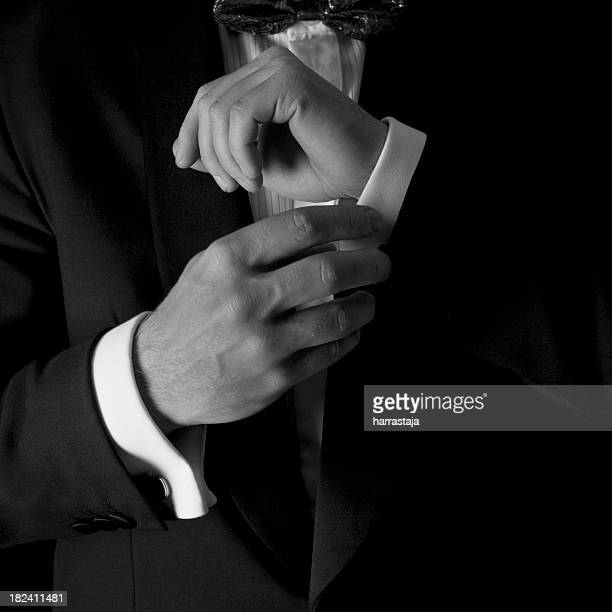 man in tuxedo - dinner jacket stock pictures, royalty-free photos & images