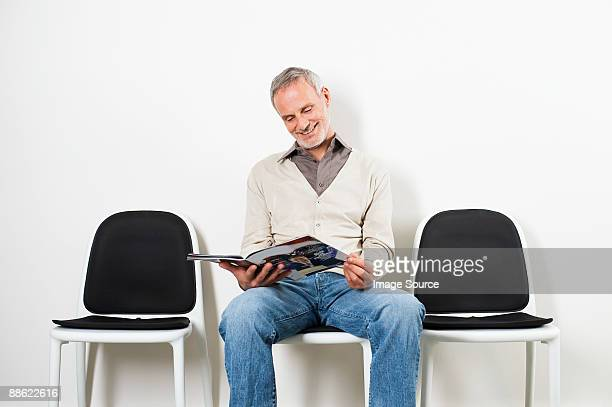 Man in waiting room