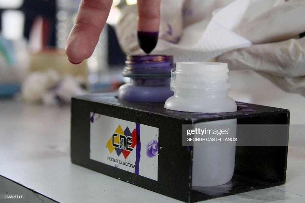 VENEZUELA-ELECTION-SAN CRISTOBAL : News Photo