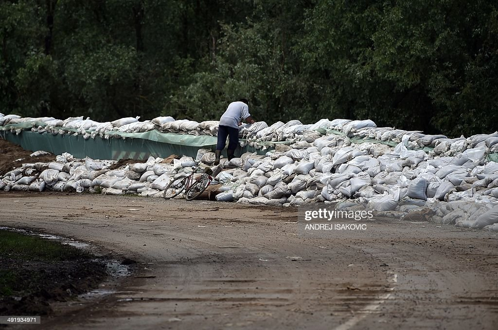 SERBIA-WEATHER-FLOOD : News Photo