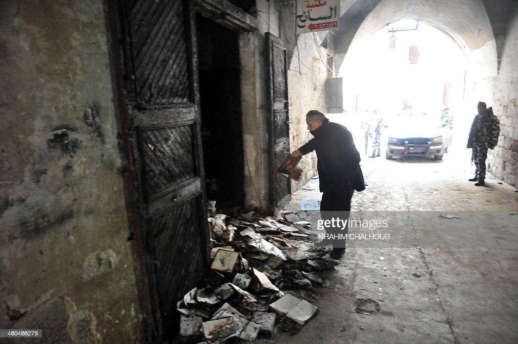 LEBANON-UNREST-CULTURE-BOOKS-TRIPOLI-RELIGION : News Photo