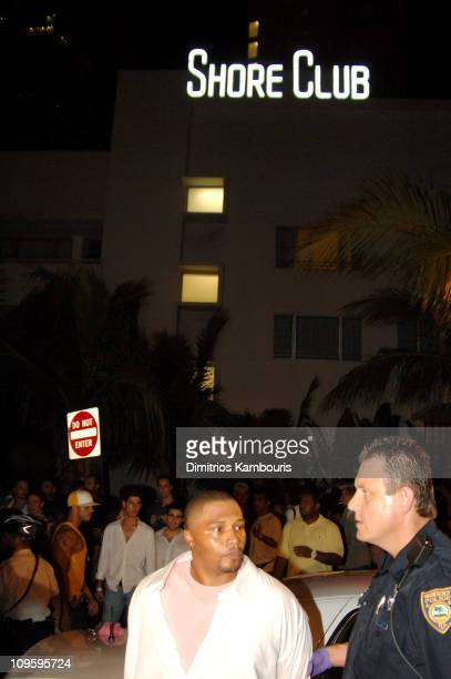 A man is arrested on unspecified charges after rap mogul Suge Knight was shot inside the Shore Club in Miami's South Beach during the early hours of...