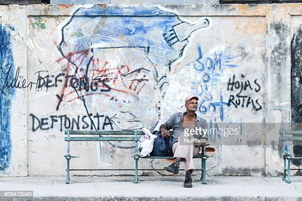 A man is resting in Havana city center For a week I explored the streets of Havana the homes and Havana's vastly diverse culture just a few days...