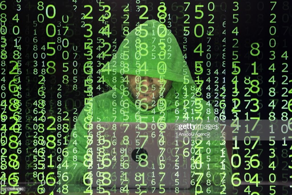 Cyber attack : ニュース写真