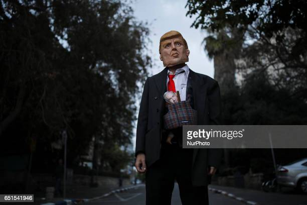 Gummipuppe Trump