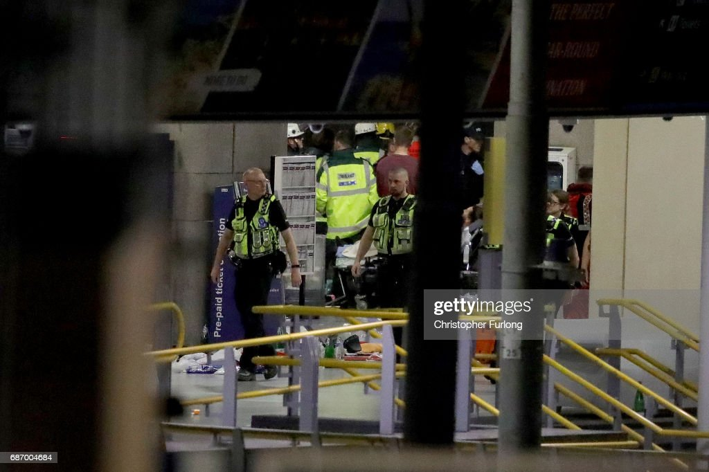 Deadly Blast at Manchester Arena : News Photo