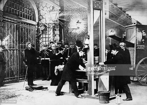 Censored Guillotine Scene Pictures | Getty Images